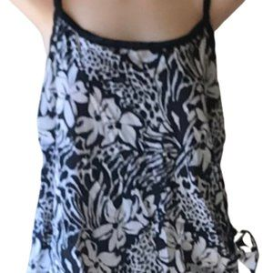 Maxine of Hollywood Floral 1 Pc Swimsuit Sz 18W